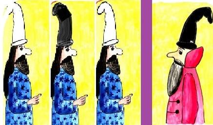 Задачі про мудреців у ковпаках