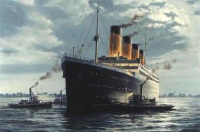 Титаник не утонул?