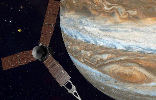 П'ять років подорожі Юнони до Юпітера