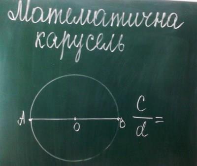 Математична карусель у гімназії Здоров'я